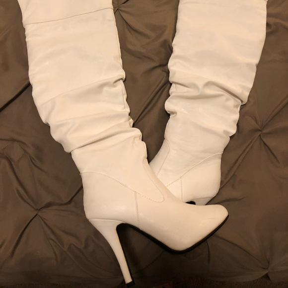 new cheap pick up official images Dressy sexy knee high boots